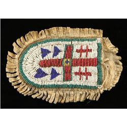 Old Beaded Small Indian Pouch