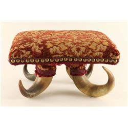 Adorable Horn Foot Stool