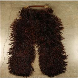 Black Agora Woolly Chaps
