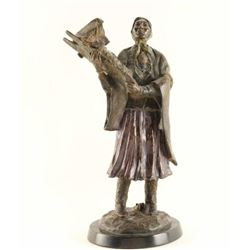 Original Fine Art Bronze by Joe Beeler