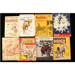 Collection of 15 Vintage Rodeo Programs