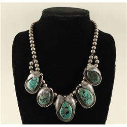 Old Pawn Squash Blossom Necklace