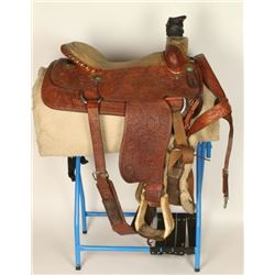 Team Roping Saddle