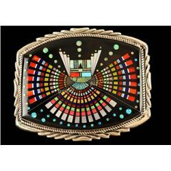Inlaid Zuni Buckle