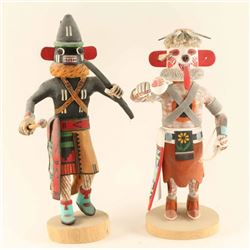 Lot of 2 Hopi Kachinas
