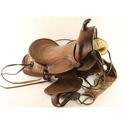 Old Mexican Saddle
