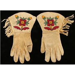 Pair of Beaded Gauntlets