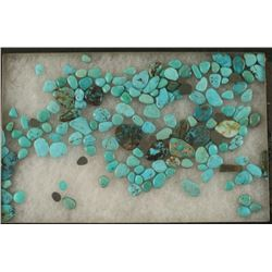 500+ Carats Asst. Turquoise Cabs