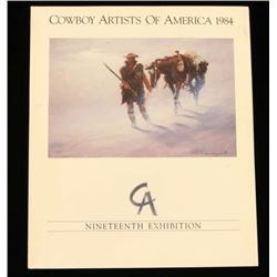 """Cowboy Artists of America 1984"""