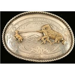 Classic Sterling Western Belt Buckle