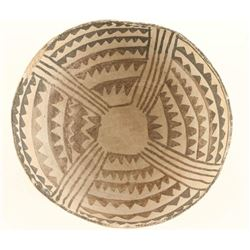 Puerco Anasazi Black & White Bowl