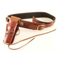 Leather Single Action Holster Rig