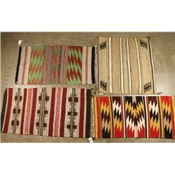 Collection of 4 Small Rugs