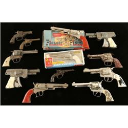 Large Lot of Collector's Toy Guns