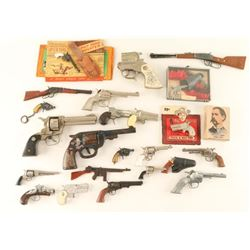 Large Lot of Toy Guns