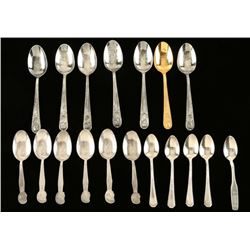 Lot of Collector's Spoons