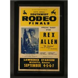 Vintage Rodeo Poster