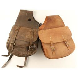 Lot of 2 Saddlebags