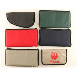 Collection of 6 Soft Pistol Cases