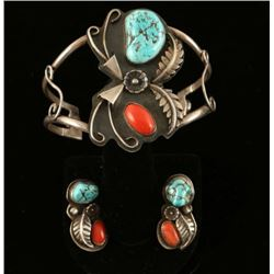 Outstanding Navajo Jewelry Set