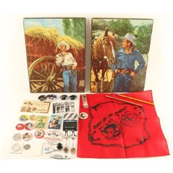 Collection of Cowboy Collectibles