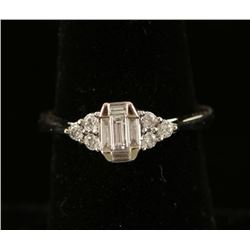 Emerali Emerald Cut Diamond Ring
