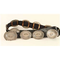 High Quality Native American Concho Belt