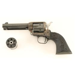 Colt Peacemaker .22 Dual Cylinder SN L03424