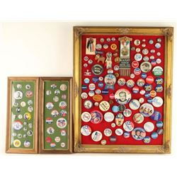 Presidential Button Collection