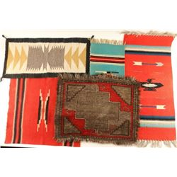 Collection of 5 Indian & Ethnic Rugs