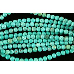 Lot of 10 Turquoise Bead Strands