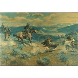 Vintage Russell Canvas Print