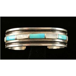 Old Pawn Native American Cuff Bracelet