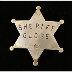 Old West Cowboy Era Sheriff Law Badge