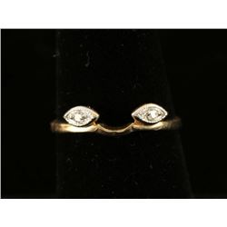 Diamond & Gold Ring Guard