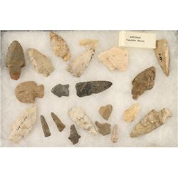 Lot of 21 stone Points