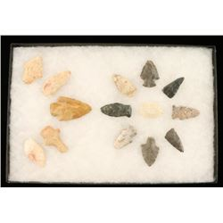 Lot of 13 Stone Points