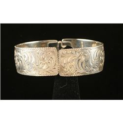 Sterling Engraved Bracelet