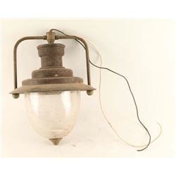 Turn of the Century Railroad Hanging Lamp