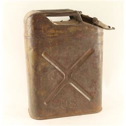 U.S. Marked Gas Canister