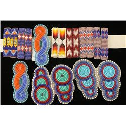 Lot of Beaded Barrettes