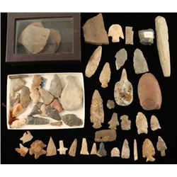 Native American Tools, Arrowheads & Drills