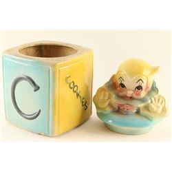 American Bisque Vintage Cookie Jar