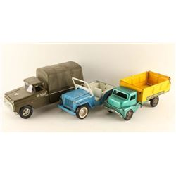 Lot of 3 Toy Trucks