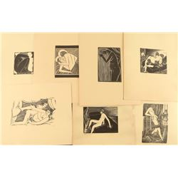 Collection of Erotic Block Prints