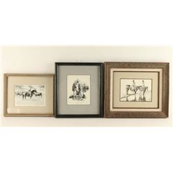 Collection of 3 Shoofly Prints