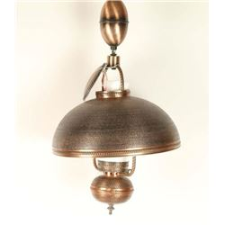 Copper Saloon Lamp