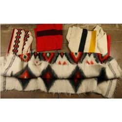 Collection of 3 Mexican Wool Blankets