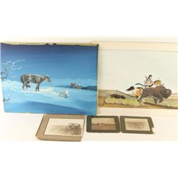Lot of Paintings and Photos