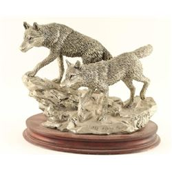 Limited Edition Pewter Sculpture